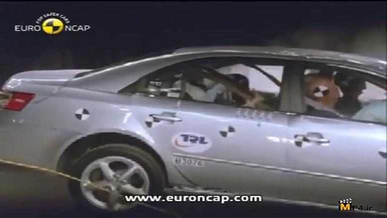 تست تصادف سوناتا ۲۰۱۱ مدل ای