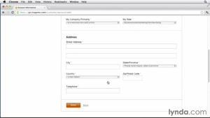 ایجاد اولین فروشگاه آنلاین جلسه ۵