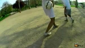 حرکات فوق نمایشی وتکنیکی با توپ فوتبال قسمت اول