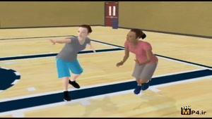 آموزش مهارت های بسکتبال جلسه ۲