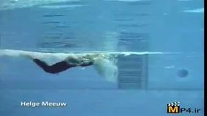 آموزش شنا جلسه ۹