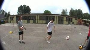 حرکات فوق نمایشی وتکنیکی با توپ فوتبال قسمت هشتم