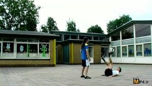 حرکات فوق نمایشی وتکنیکی با توپ فوتبال قسمت ششم