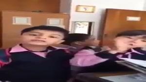 دعوای بچه ها در مدرسه