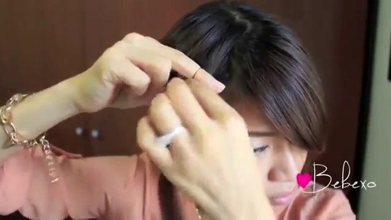 آموزش درست کردن یک مدل موی ساده و شیک