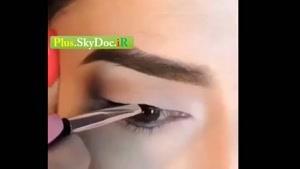 آموزش کشیدن خط چشم