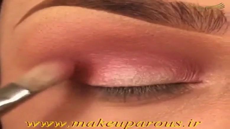 آموزش یک آرایش زیبا و جذاب برای چشم