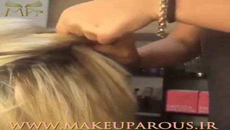 یک مدل موی جدید و خلاقانه