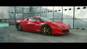 فراری ۴۵۸ با رینگ ووسن در Ferrari ۴۵۸ California