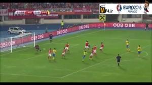 اتریش ۱-۱ سوئد