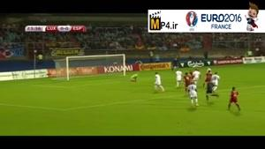لوکزامبورگ ۰-۴ اسپانیا