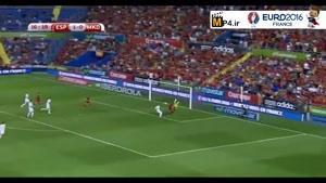 اسپانیا ۵-۱ مقدونیه