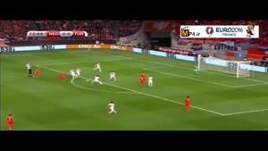 هلند ۱-۱ ترکیه (گل های بازی)