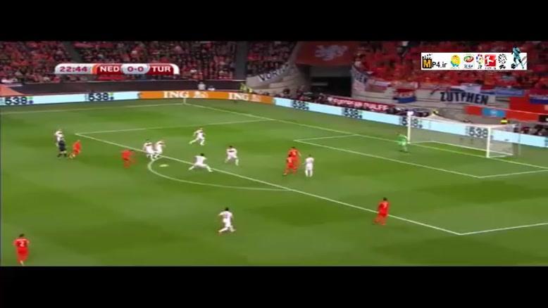 هلند ۱-۱ ترکیه