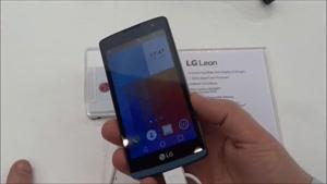 بررسی گوشی جدید LG Leon