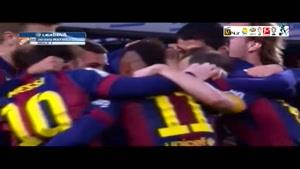 بارسلونا ۲-۱ رئالمادرید