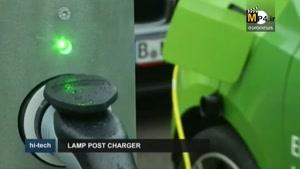 چراغ برق های برلین، مکانی برای شارژ خودروها