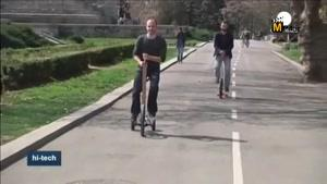 تحولی در طراحی و راندن دوچرخه
