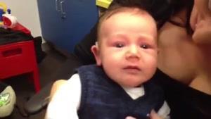 عکس العمل کودک ناشنوا بعد از استفاده از سمعک