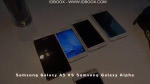 مقایسه ی Samsung Galaxy A۵, A۷, A۳ vs Galaxy Alpha