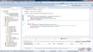 آموزش android - استفاده از فایل logcat