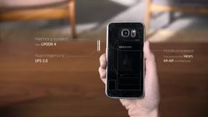مقایسه ی گوشی galexy s۶ و s۶ edge