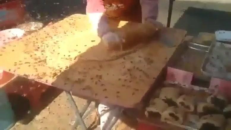 شیرینی با اسانس و طعم زنبو ر!