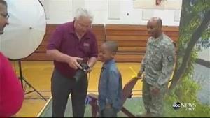پسر دلتنگ و پدر سرباز