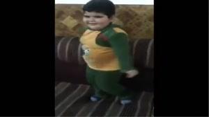 رقص بامزه پسربچه