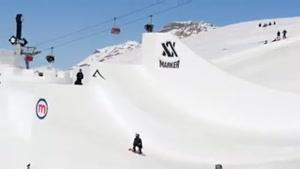 مسابقات اسکی و اسکیت بورد