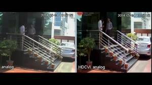 مقایسه تصویری دوربین مداربسته hdcvi و انالوگ داهوا