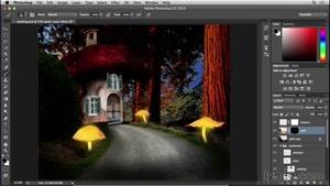 آموزش فتوشاپ - ساخت خانه قارچی - قسمت ۱۳