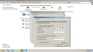 آموزش فارسی TCP IP در windows Server 2012 R2