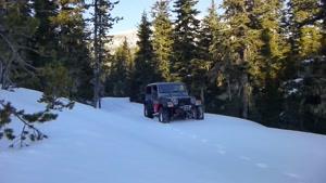 تست آفرود Jeep Renegade