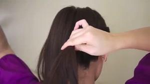 آموزش یک مدل بافت موی جدید