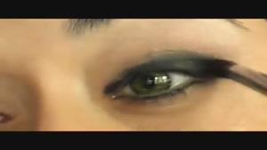 آموزش آرایش چشم هیفا وهبی