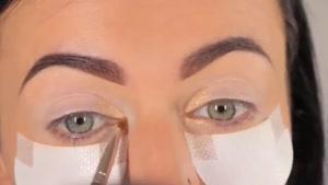 آموزش یک مدل آرایش فوق العاده زیبا