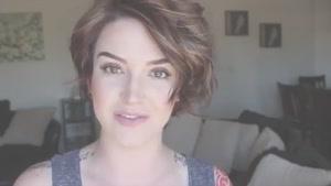 آموزش یک مدل موی زیبا مخصوص موهای کوتاه