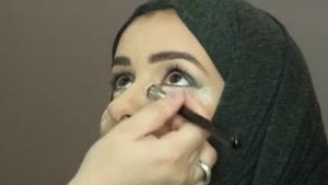 آموزش آرایش دودی چشم ها