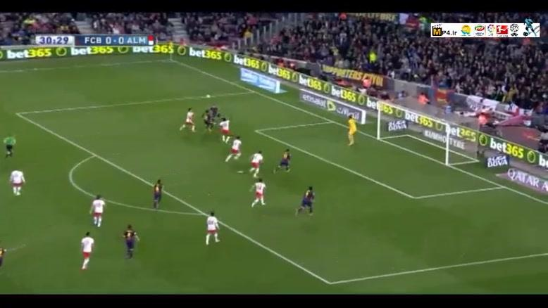بارسلونا ۴-۰ آلمریا