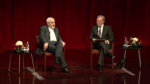 گفتگو با دکتر محمد جواد ظریف در کنفرانس نیویورک
