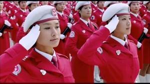 سربازهای زن چین