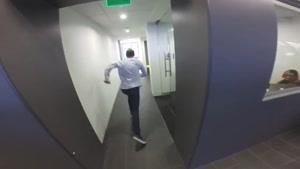 لنز دوربین گوپرو و ماجراهای فوتبال در شرکت