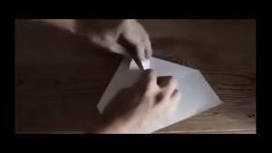 آموزش ساخت هواپيما کاغذي