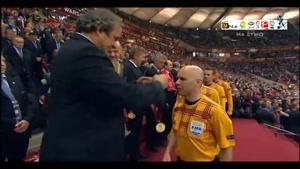 جشن قهرمانی سویا در لیگ اروپا