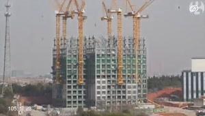 ساخت ساختمان ۵۷ طبقه طی ۱۹ روز در چین!