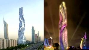 برج متحرک در دبی