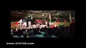 مراسم وداع با شهدای غواص و خط شکن در دانشگاه تهران