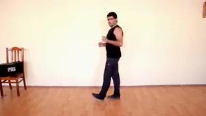 آموزش رقص آذری لزگی بخش 1