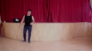 آموزش رقص آذری لزگی بخش 3